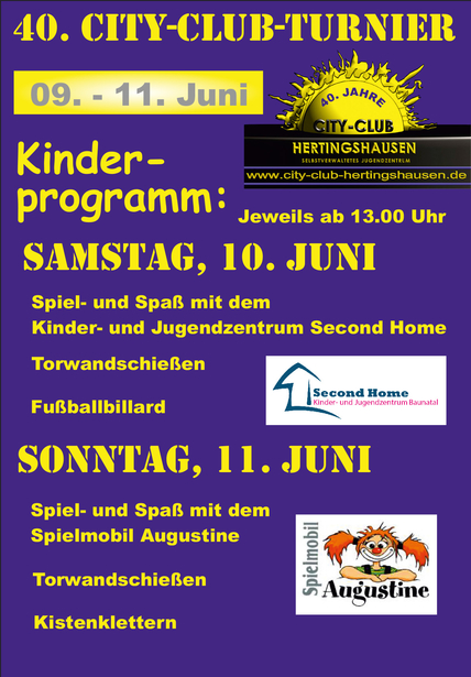 City-Club Turnier Programm